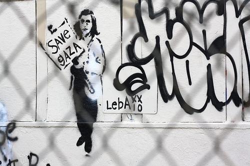 Leba : Anne Frank painting in Venice Beach