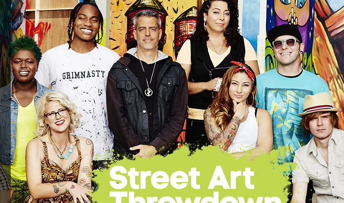 LeBA street art throwdown on oxygen